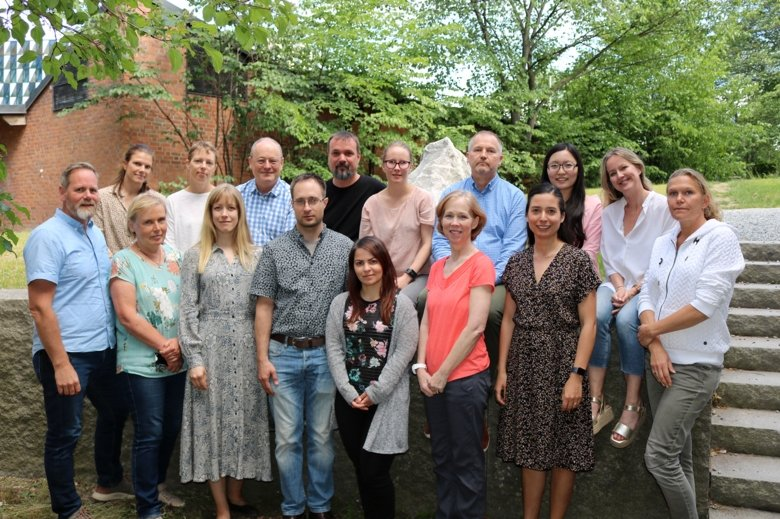 The research group in CEDI - centre of eating disorders - June 2019