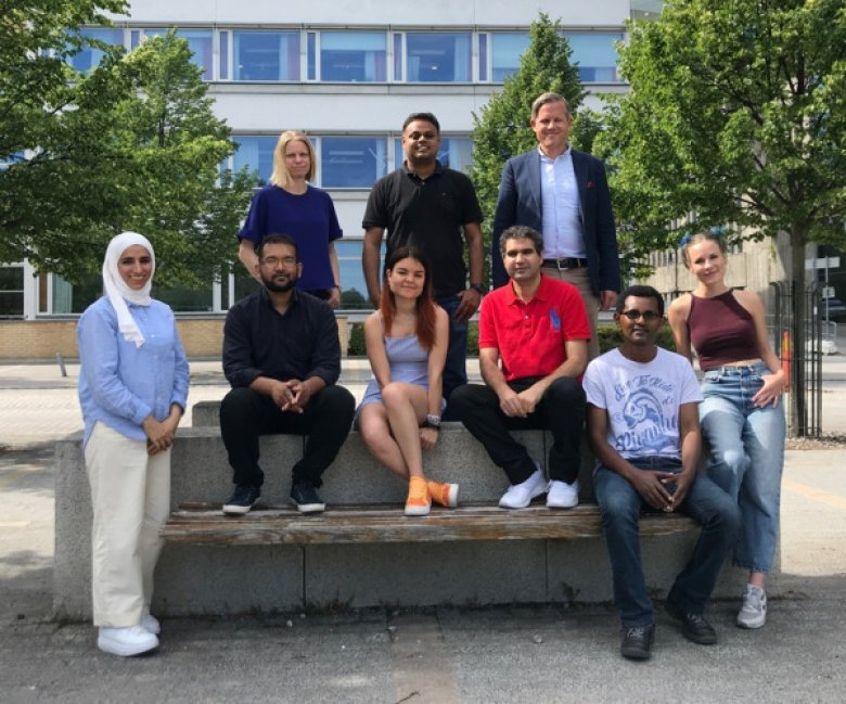 Group photo of Christian Giske research group
