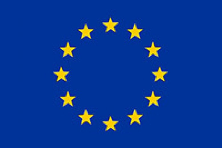 Photo of the EU-flag