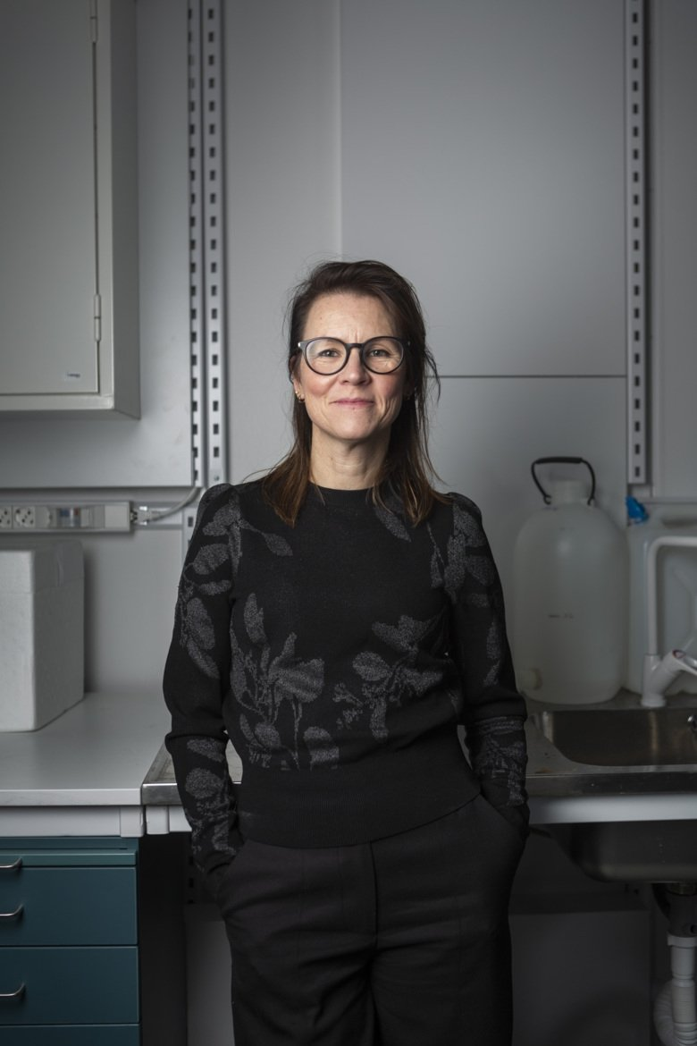 Portrait of researcher Marie Carlén. Photo: Martin Stenmark.