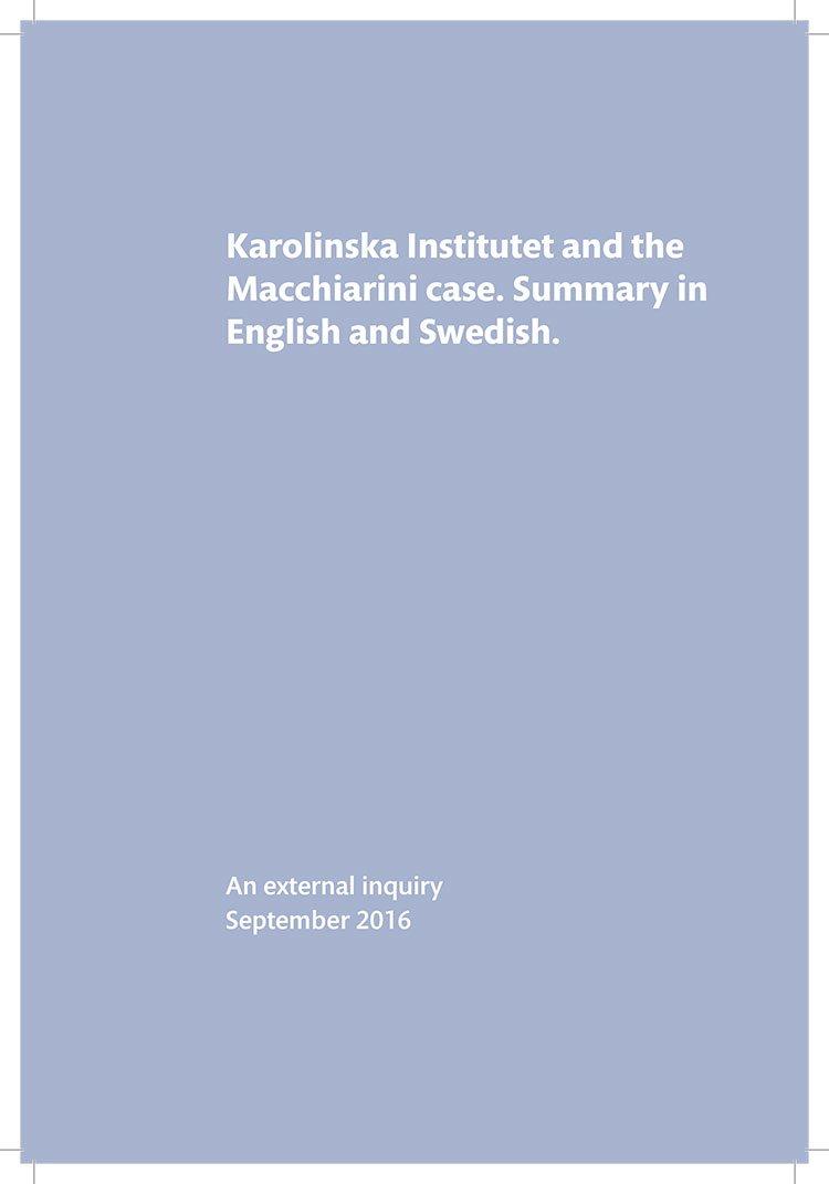 Information material about Karolinska Institutet   Karolinska Institutet